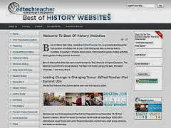 HISTORY WEBSITES