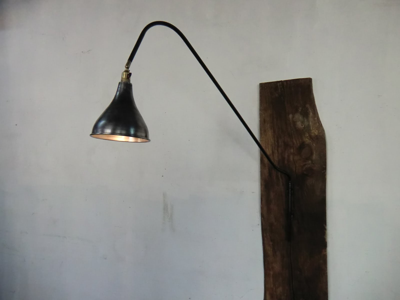 Wo and w collection potence lampe murale industrielle - Lampe murale industrielle ...