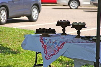 farmer's market cup cakes