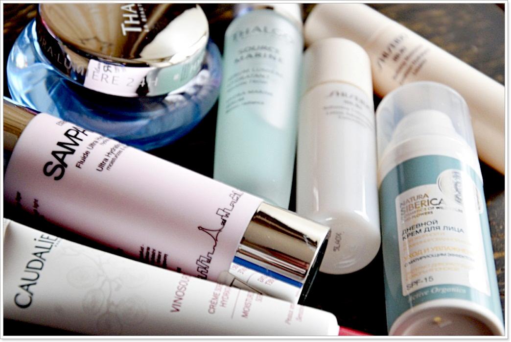 E_katerina: Глобальный пост об увлажнении кожи. Thalgo, Sampar, Natura Siberica, Caudalie, Shiseido