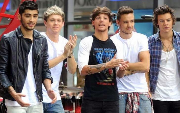 Foto Personel One Direction