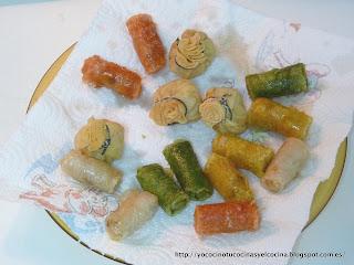 aperitivos chinos fritos