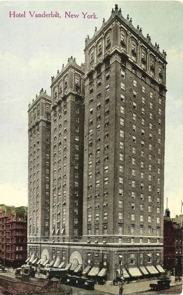 Vanderbilt Hotel Nyc