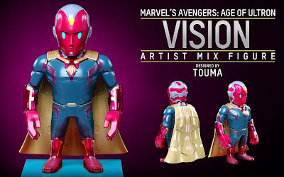 Marvel's Avengers Age of Ultron Artist Mix Figures Series 2 by Touma & Hot Toys - Vision