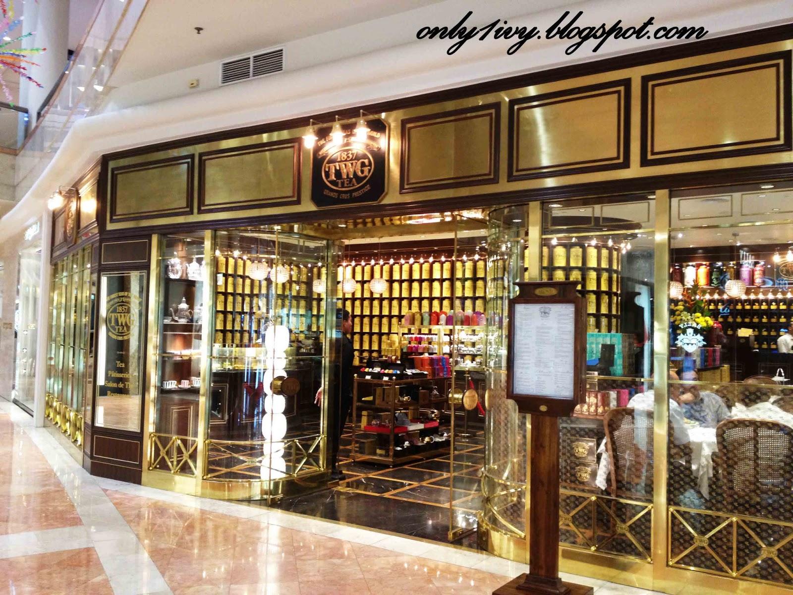 Ivy 39 s life twg tea salon boutique for 2 bay shop