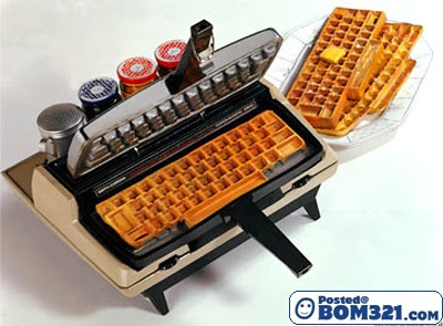 Hidangan Waffle Yang Kreatif