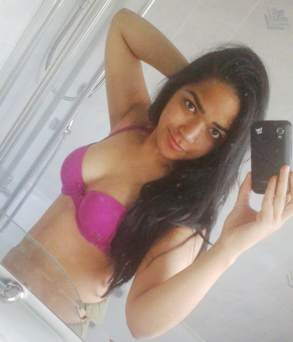 Desi College Girl Stripping Nude Photo
