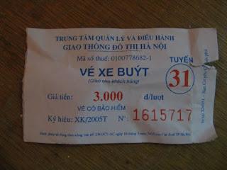 bilet autobusowy hanoi