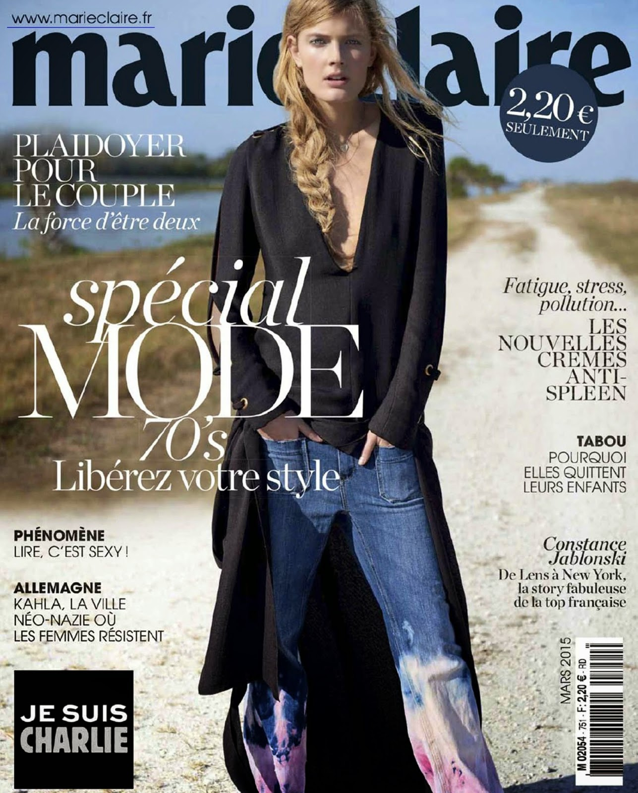 Fashion Model: Constance Jablonski for Marie Claire France