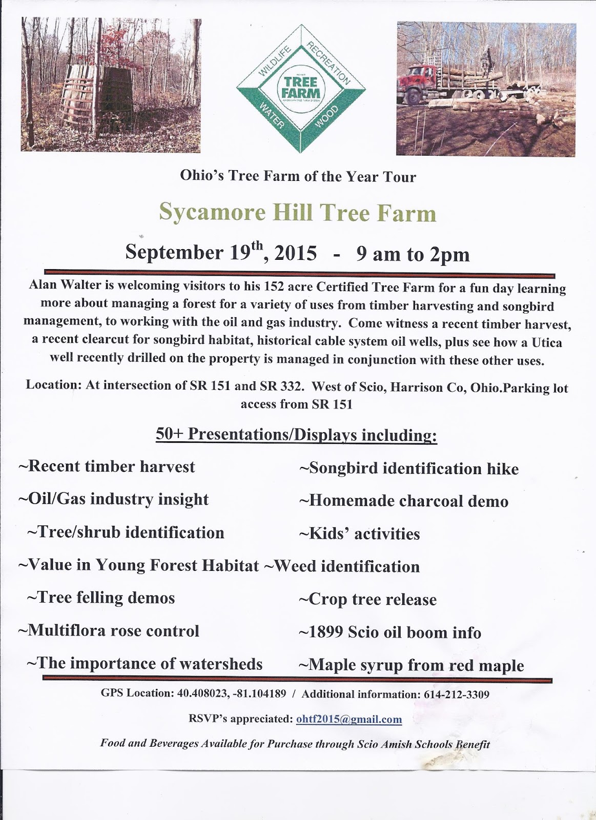 Guernsey soil water conservation district 2015 ohio for Soil tour dates 2015