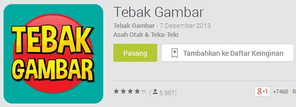 Kunci Jawaban Game Tebak Gambar Android