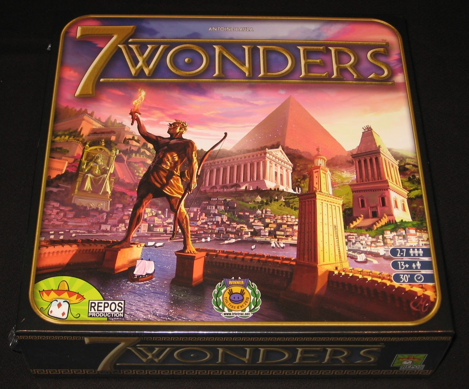 how to play 7 wonders game