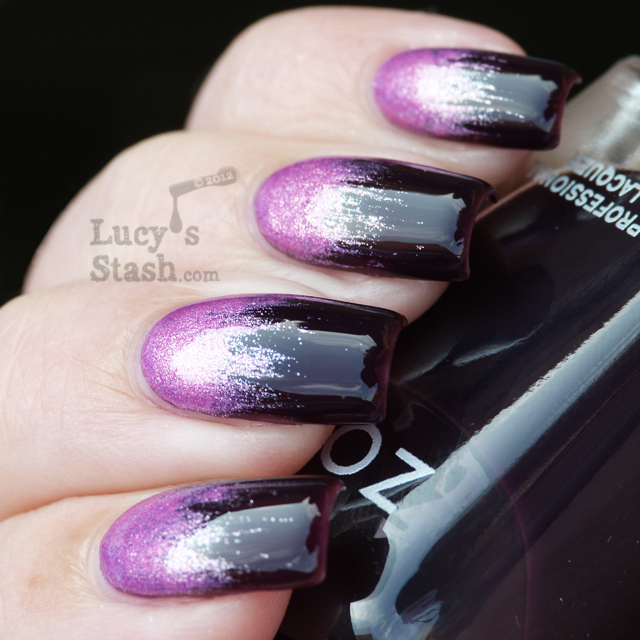 Lucy's Stash - Zoya Rory over Katherine gradient