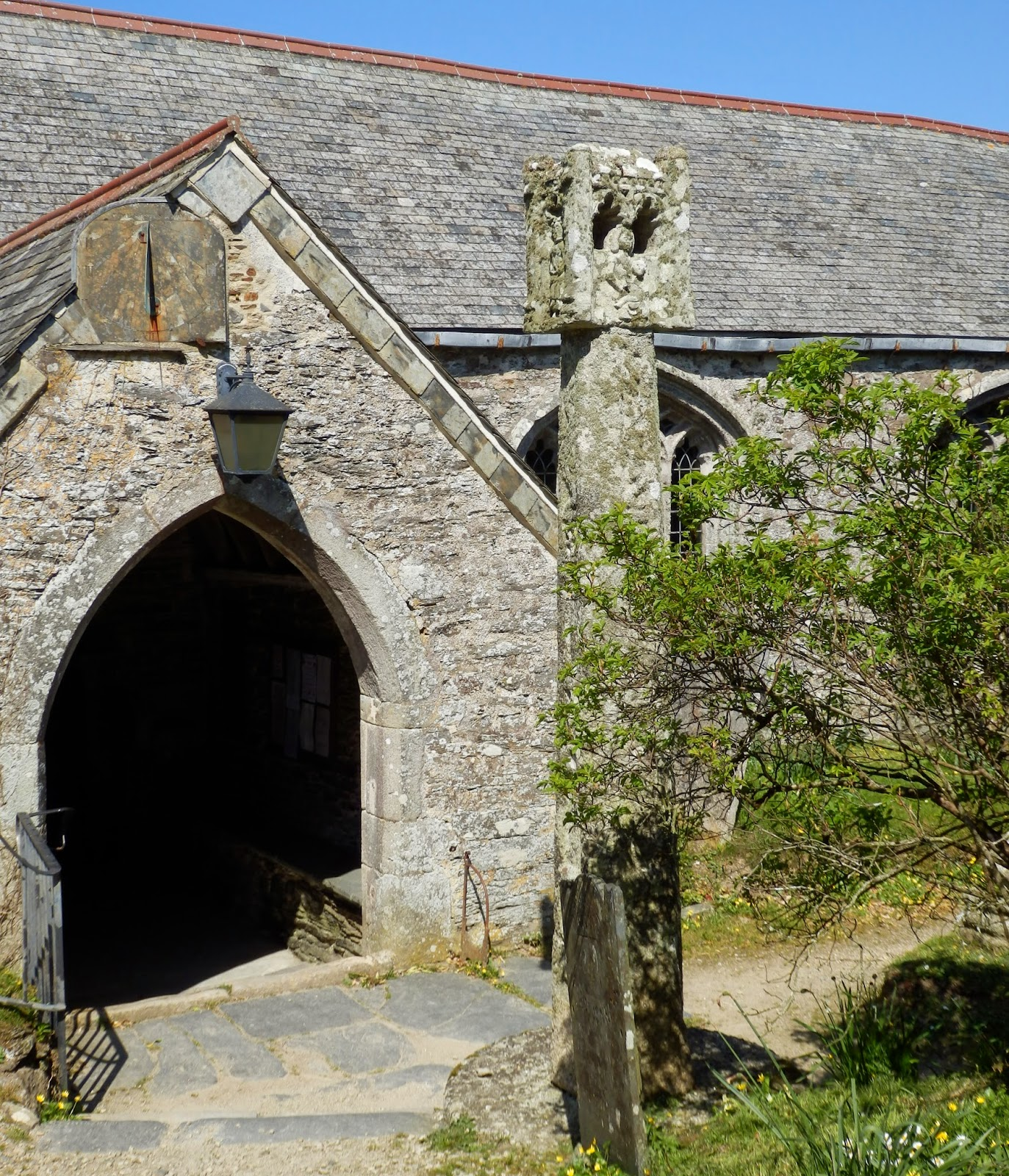 Entrance to church Cornwall