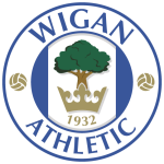 Logo Tim Klub Sepakbola Wigan Athletic PNG