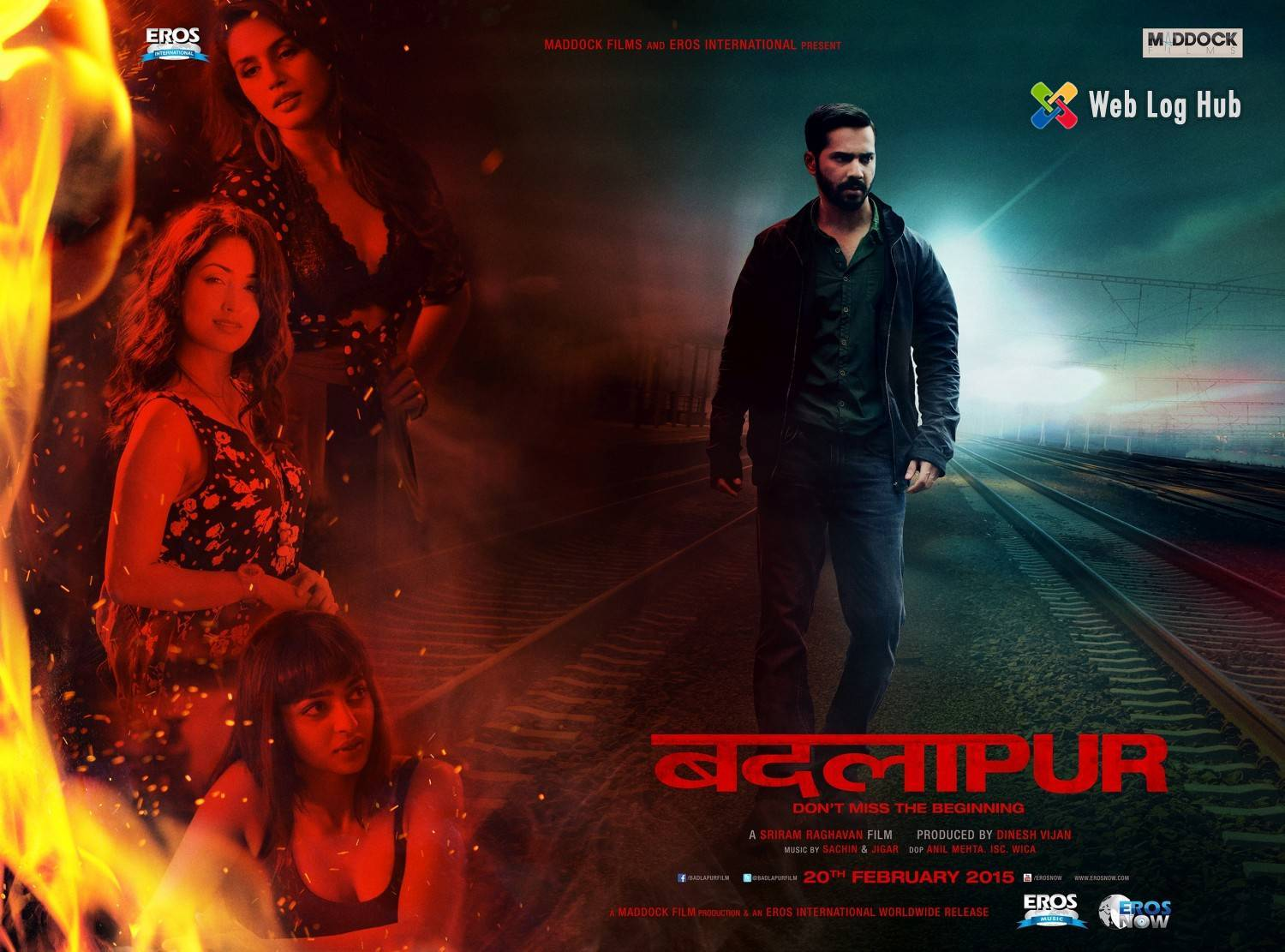Badlapur wins praise from the industry - Web Log Hub