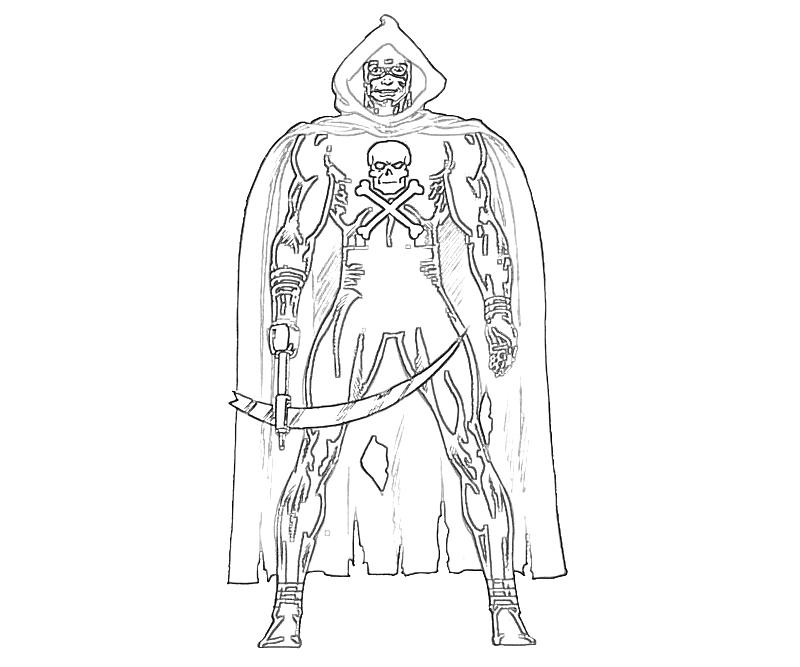 grim reaper coloring pages photo9