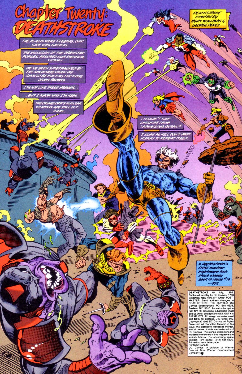 Deathstroke (1991) Issue #49 #54 - English 3