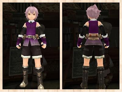 冒険者の服 紫色1(男)
