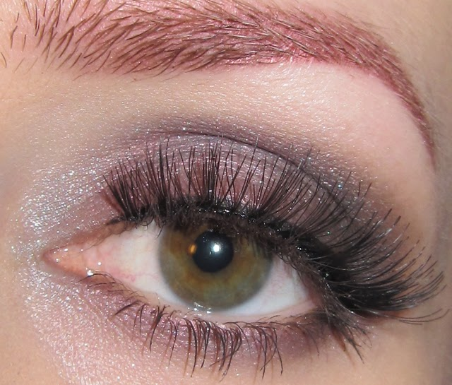 Glitter Is My Crack Shimmery Taupe Eye Makeup Look