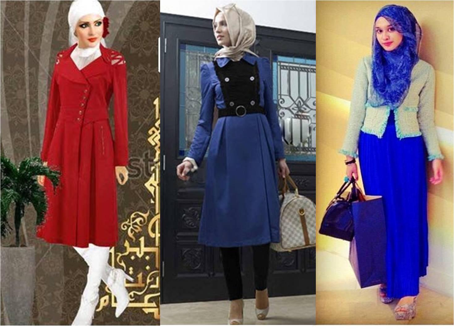 Baju Muslimah Vintage Model Terbaru Gaun Muslimah