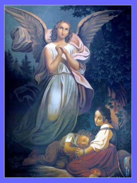 ORACIÓN AL ANGEL DE LA GUARDA PARA PROTECCIÓN