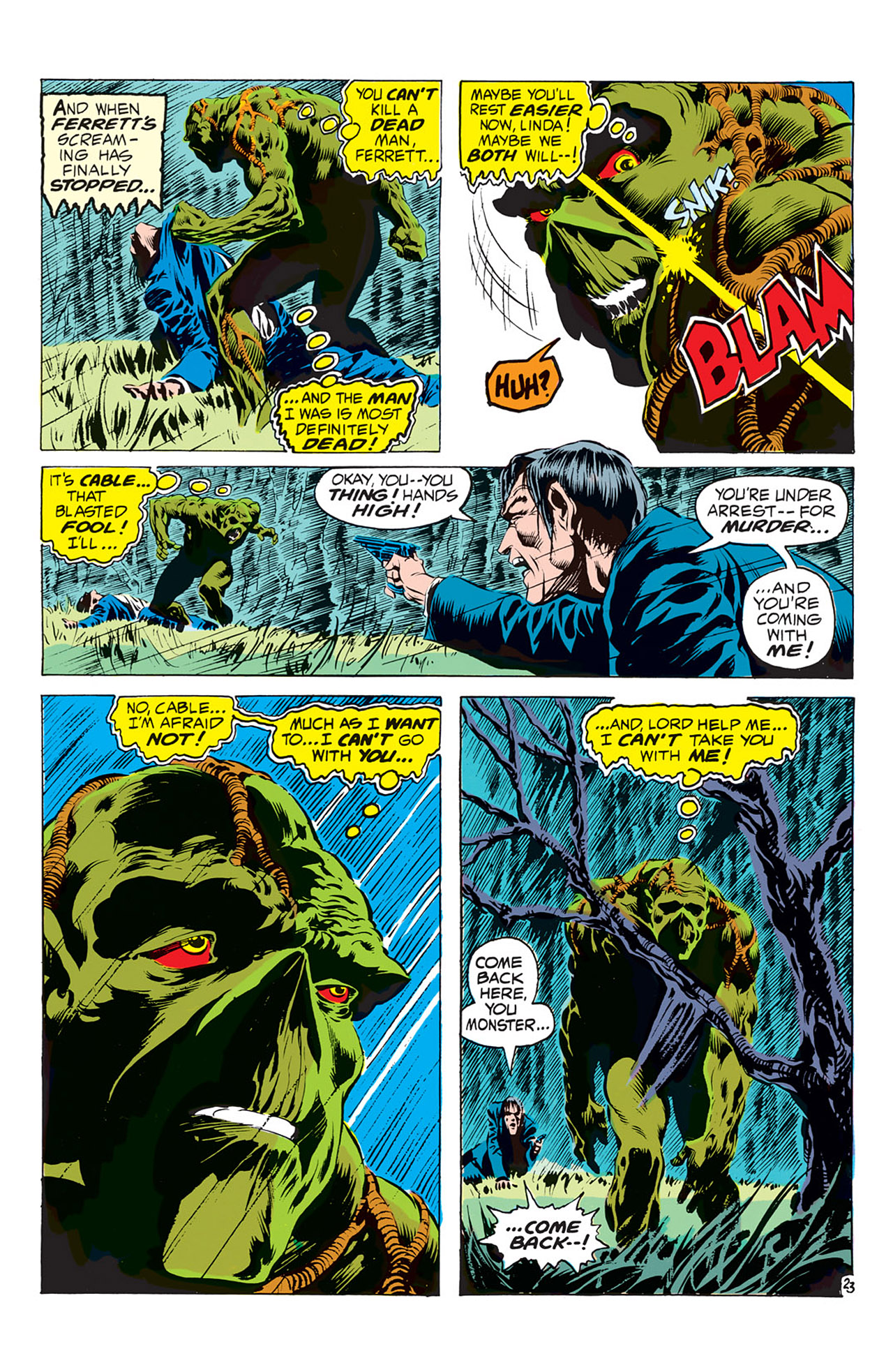Swamp Thing (1972) Issue #1 #1 - English 24