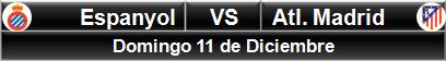 Espanyol vs Atlético Madrid