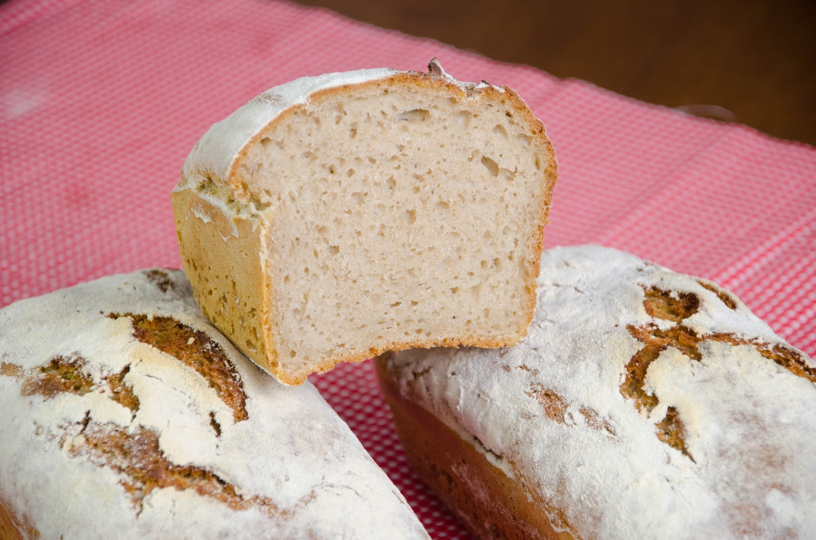 Chleb żytnio - pszenny na zakwasie, najprostszy