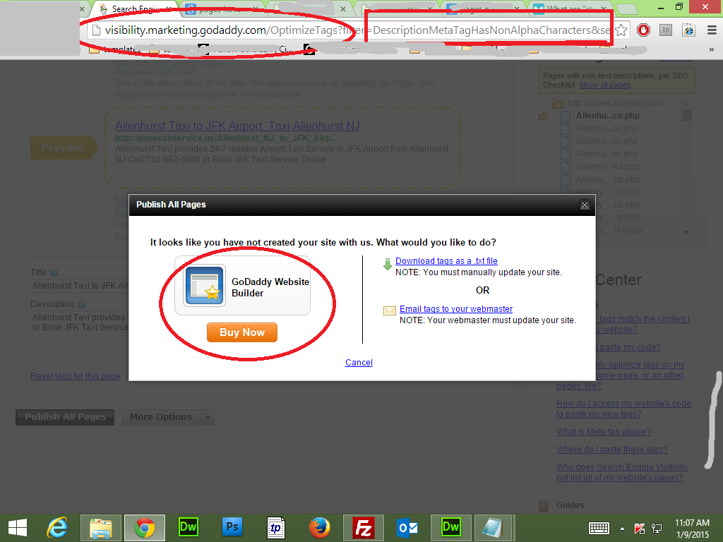 how to check if websites are submiited to search engines