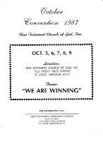 NTCC New Testament Christian Churches of America, Inc.