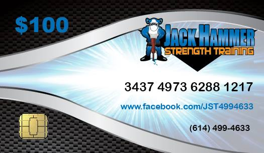 Jackhammer Strength Training