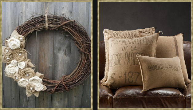 Pillows Are Another Way To Accessorize If You Only Want A Small Amount Of  Burlap In Your Decor.