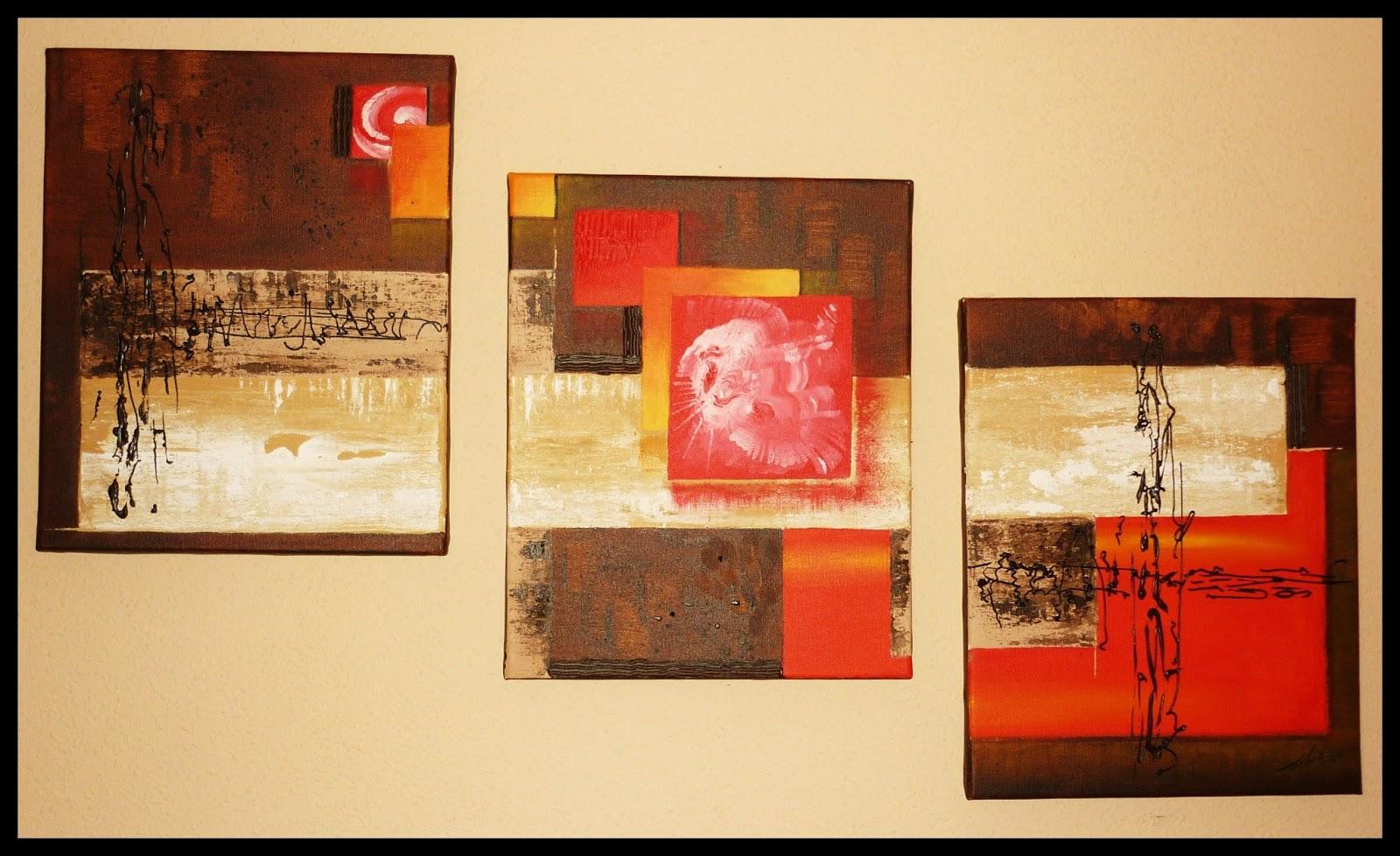 Huellas Personales es un cuadro pintado por MartaSb con acrílico y óleo