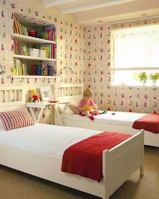 quartos duplos de meninos