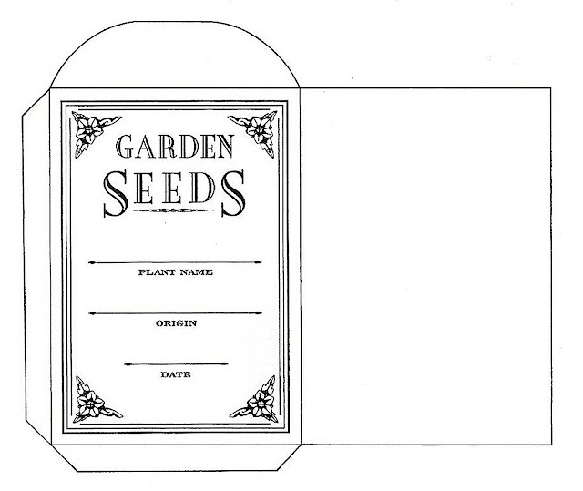 Dynamite image pertaining to free printable seed packets