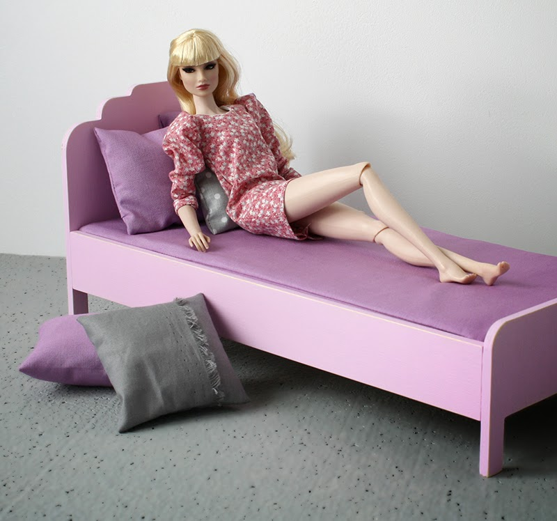 furniture for playscale dolls by minimagine - momoko, barbie, blythe