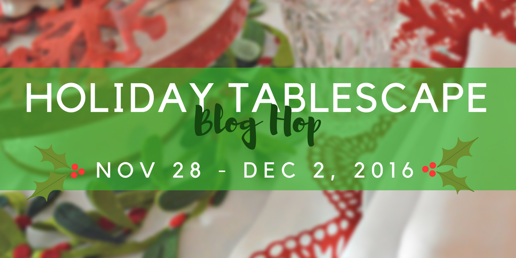 Holiday Tablescape Hop