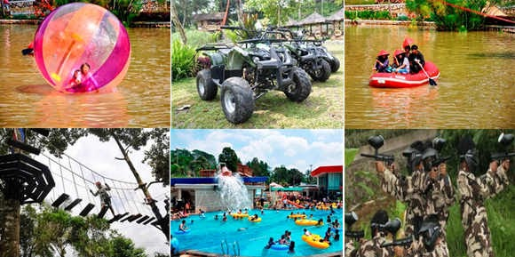 Activities The Jhon's Cianjur Aquatic