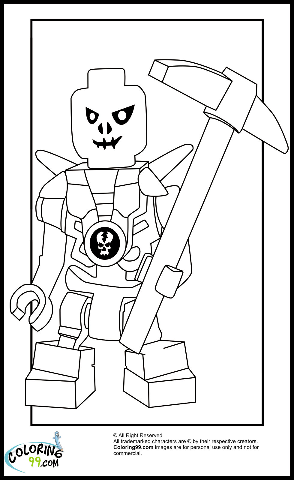 zane ninjago coloring pages - photo#49