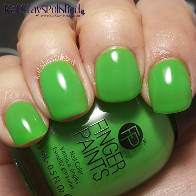 FingerPaints Tie Dye Revolution - Peace, Love, and Green | Kat Stays Polished