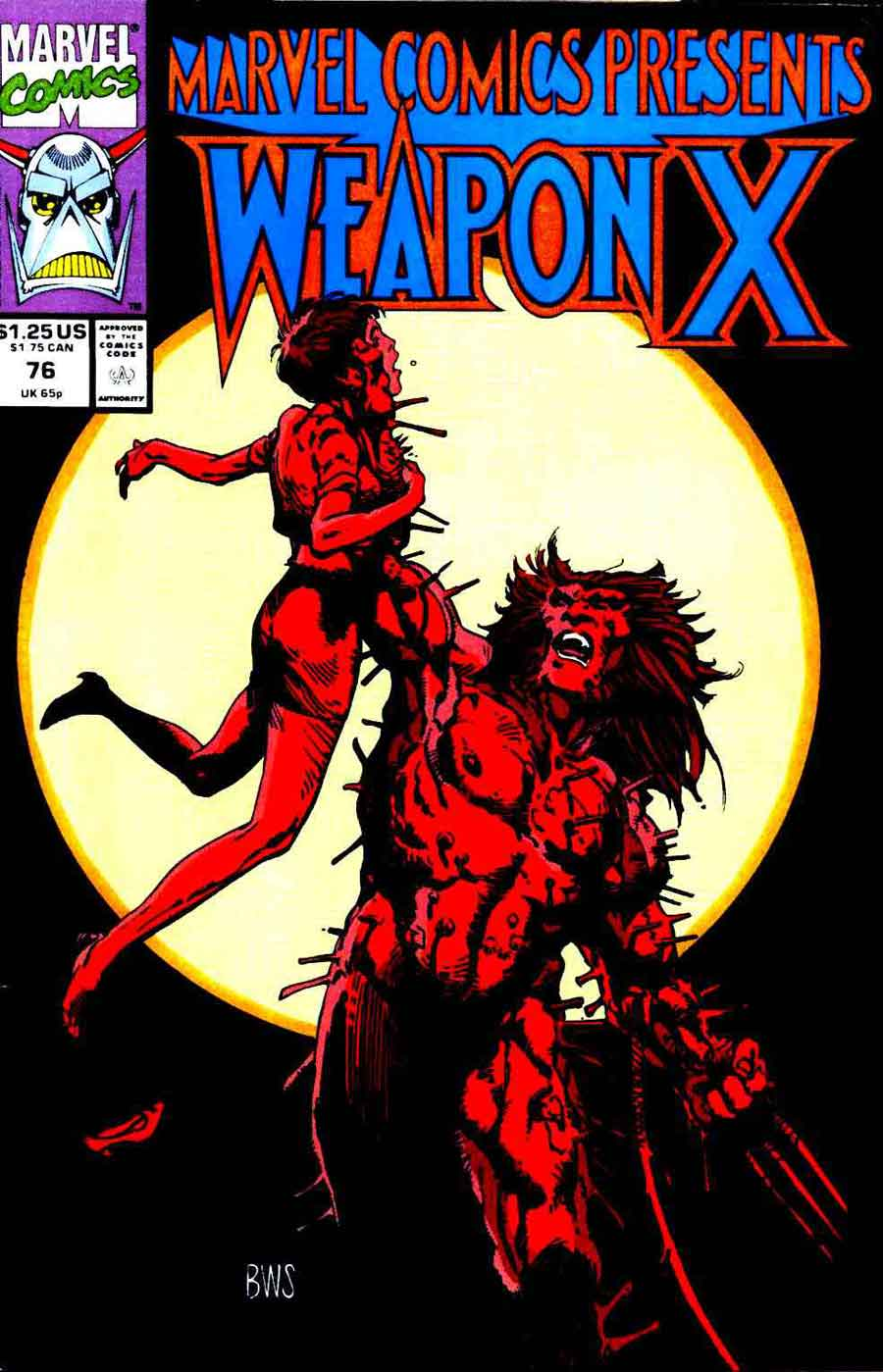 Marvel Comics Presents: Weapon X #78 CGC 9.8 1991 Wolverine origin Barry Windsor