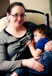 breastfeeding in the third trimester