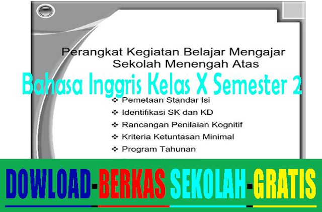 pemetaan sk kd bahasa inggris smk-adds