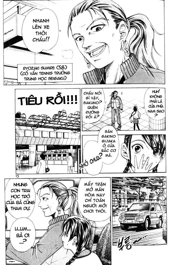 Hoàng tử Tennis Chap 1 - Trang 13