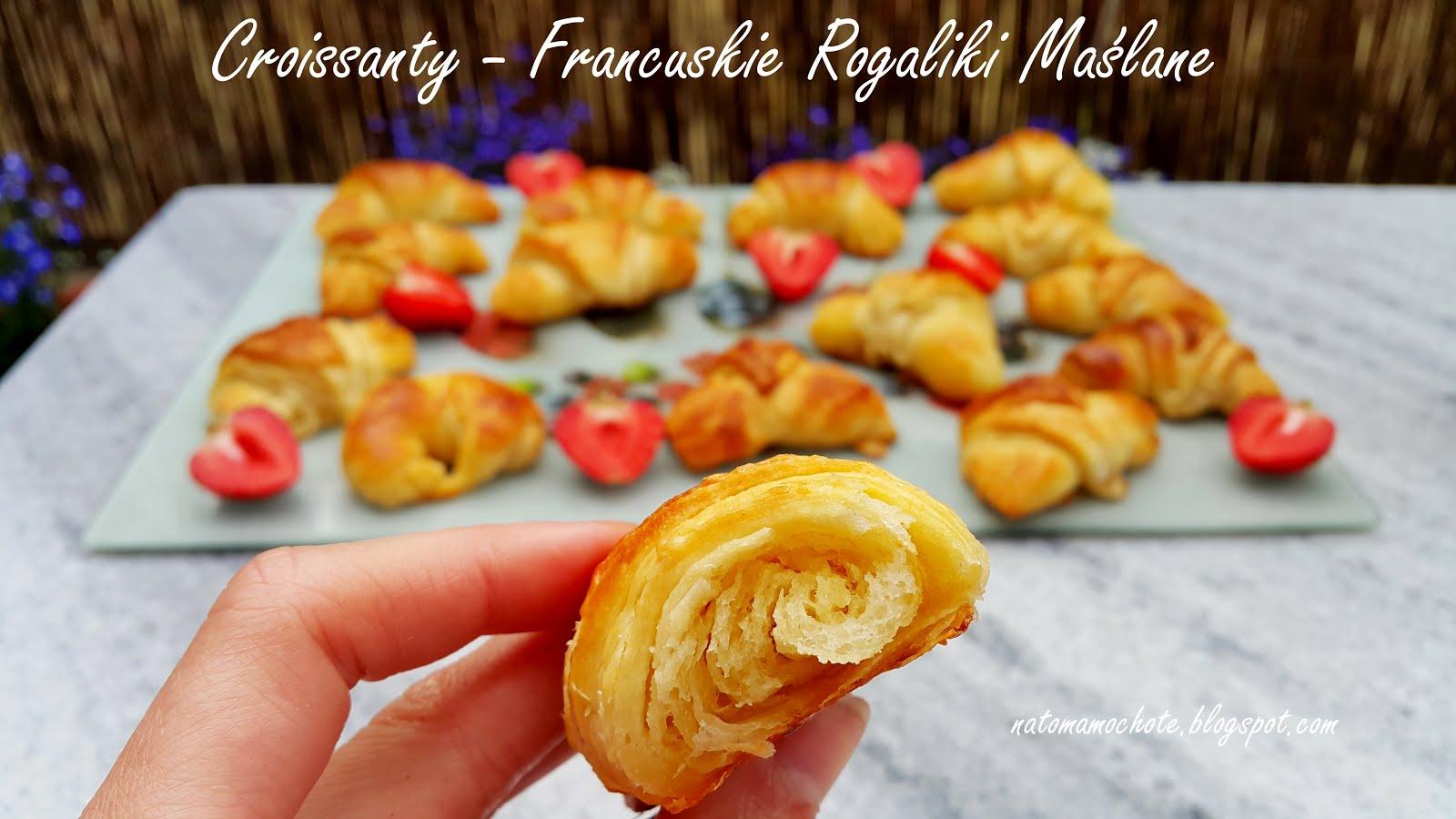 Croissants - Domowe Maślane Rogaliki