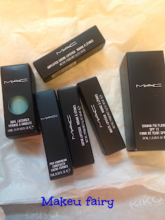 mac cosmetics haul