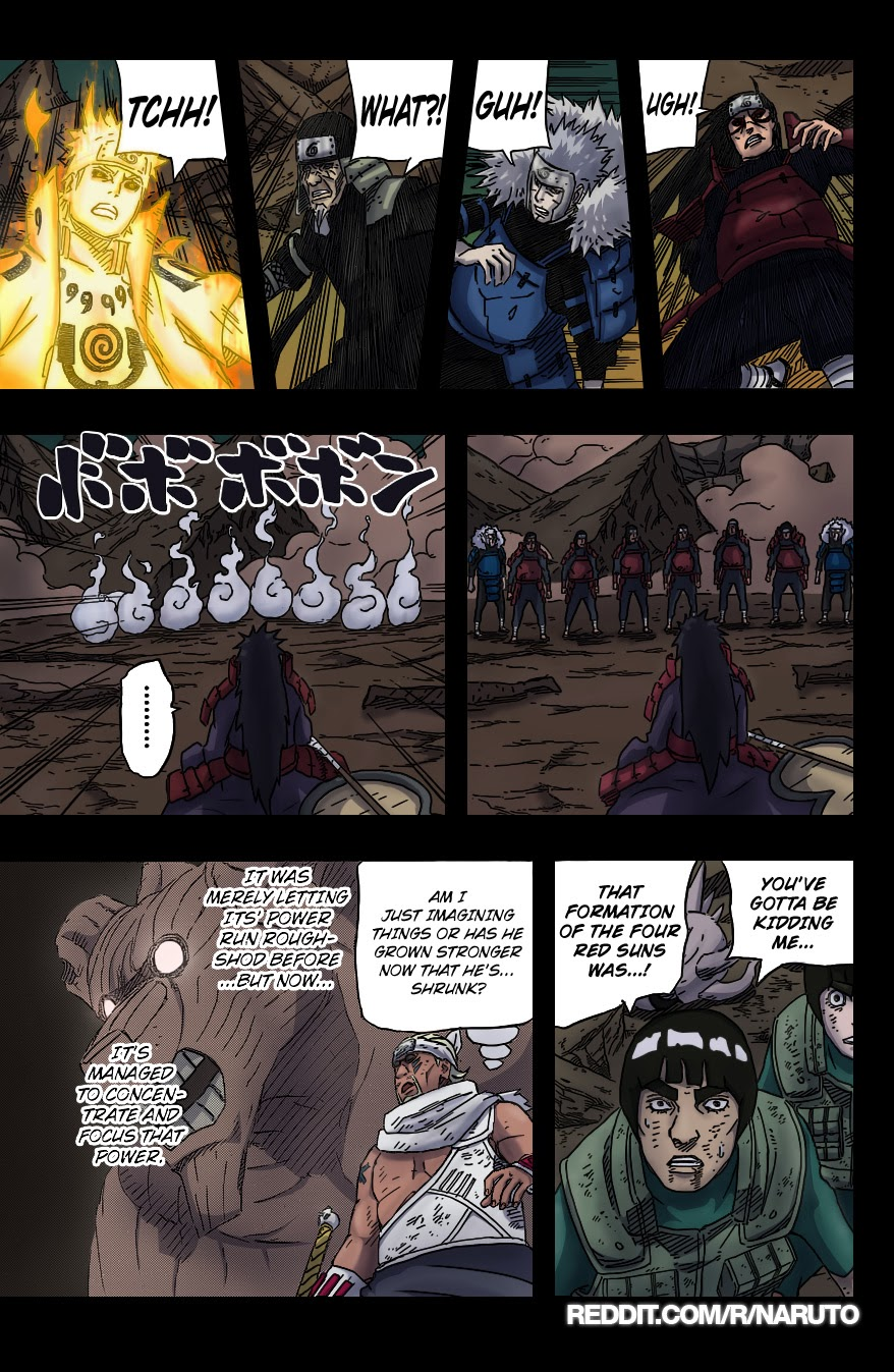 Naruto chap 655 Trang 21