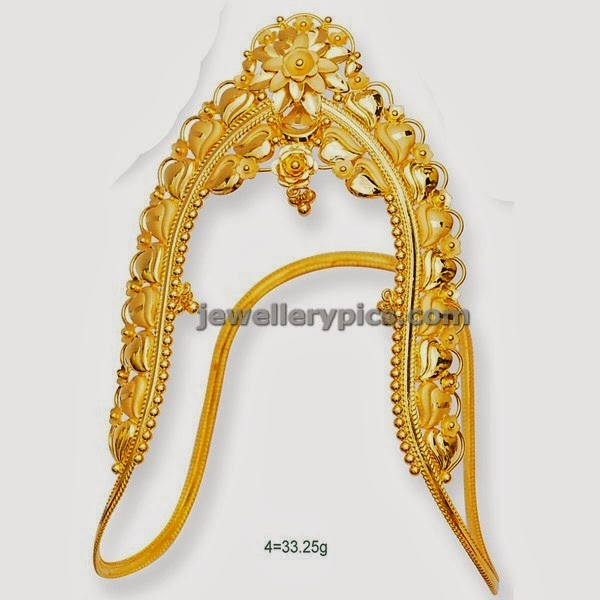 gold vanki traditional armlet