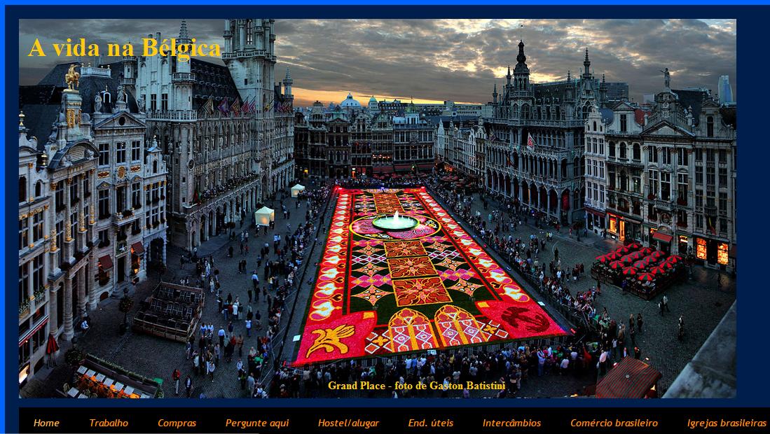Meu blog sobre a Bélgica